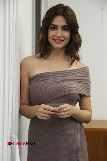 Actress Kriti Kharbanda Stills in Short Dress at Bruce Lee Movie Press Meet Stills  0031.jpg