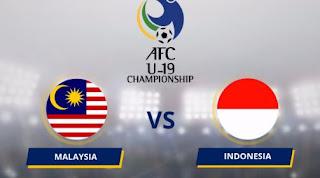 Timnas Indonesia U-19 Kalah 1-4 dari Malaysia