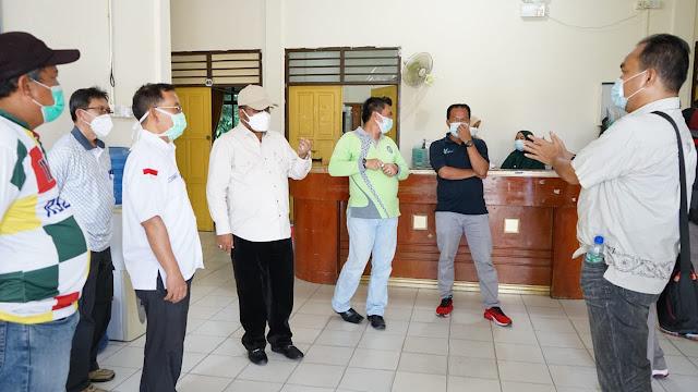 Bupati Karimun Meninjau RSUD Tanjung Batu dan Persedian gas Oksigen