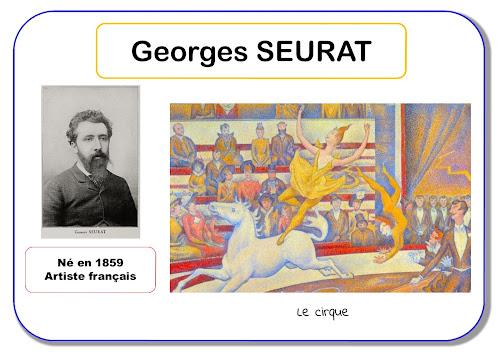 Georges Seurat - Portrait d'artiste en maternelle