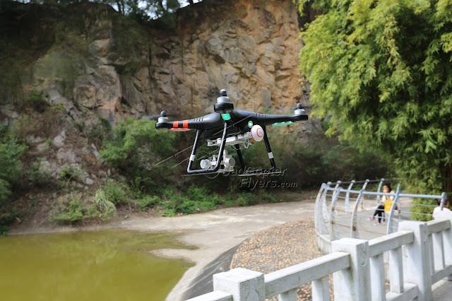 Tovsto Aegean V2 GPS Quadcopter Flying