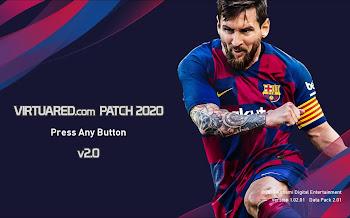 VirtuaRed Patch V2.0 | PES2020 | PC | El mejor Parche