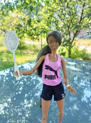 Mattel Barbie doll Puma Sport Skipper AA Made To Move MtM body