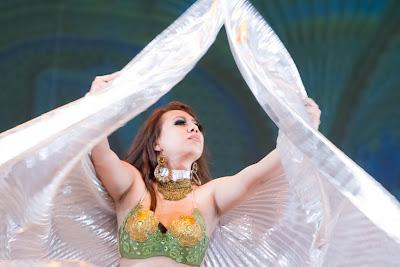 Danza Árabe Santa Ana, El Salvador Isis Belly Dancers
