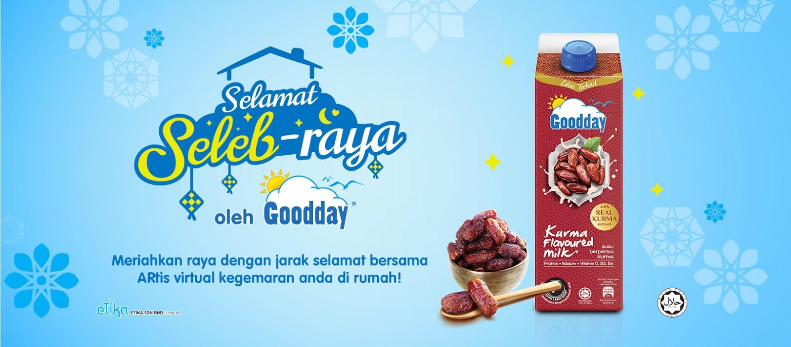 Goodday Milk Malaysia Selamat Seleb-raya - WebAR