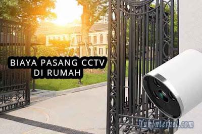 biaya pasang cctv di rumah