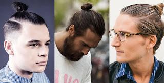 Gaya Rambut Pendek Pria: Top Knot