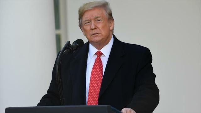 Trump decidirá si desea abogados en audiencias de impeachment