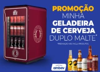 Cadastrar Promoção Minha Geladeira de Cerveja Duplo Malte