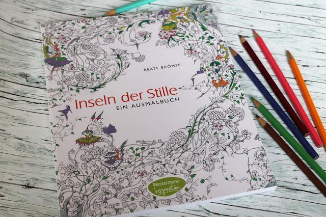 Inseln der Stille - ein Ausmalbuch für Erwachsene von Beate Brömse