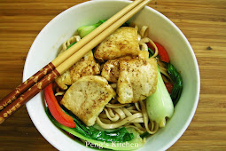 Sesame & Honey Tofu Noodles
