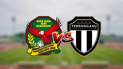 Live Streaming Kedah vs Terengganu FC Liga Super 7 Mac 2020