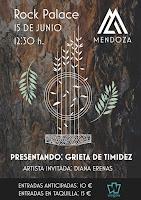 Concierto de Mendoza y Diana Erenas en Rock Palace
