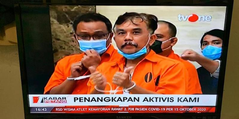 ProDEM: Maunya Jokowi Itu Apa? Dulu Kangen Didemo, Giliran Jumhur dan Syahganda Kritik Malah Dipenjara