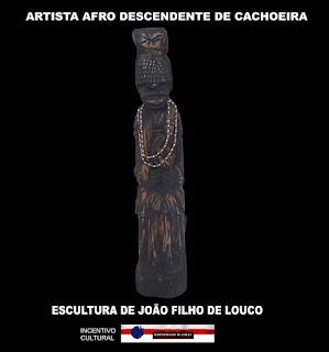 Foto de escultura de João Filho do Louco