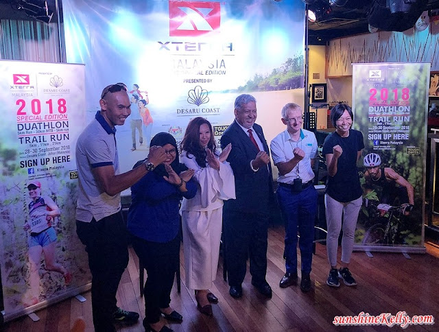XTERRA Malaysia 2018, Desaru Coast, Johor, Press Conference, Tough Gorilla, Johor Tourism, The Ministry of Tourism, Arts and Culture, Malaysia Major Events, Johor Sports Council, Hard Rock Cafe KL