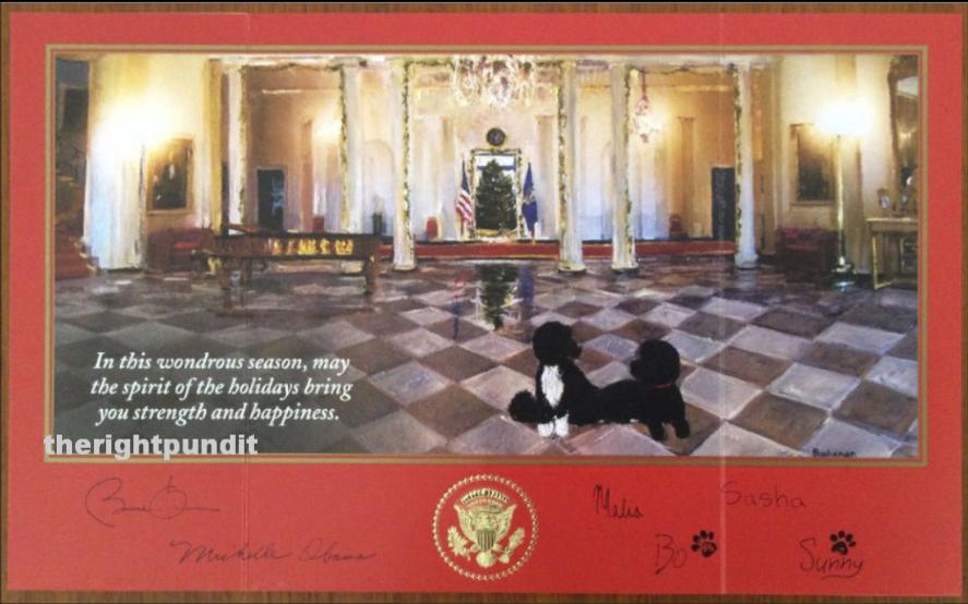 PHOTOS Obamas 2014 White House Christmas Card Makes No