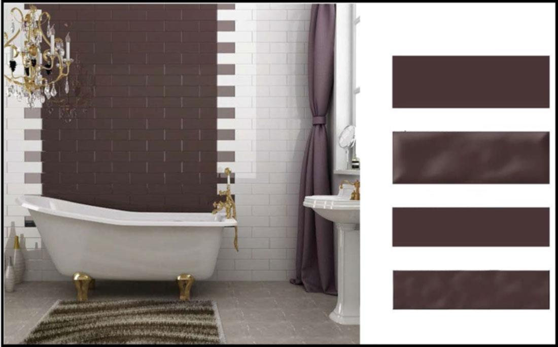 Wet room shower tiles