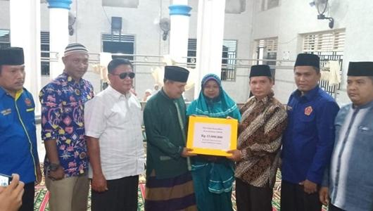 Masjid Mujahiddin Kuranji Dikunjungi Anggota DPRD Kota Padang