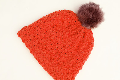 5 - Crochet Imagenes Gorro de lana a crochet con pompom por Majovel Crochet