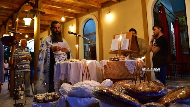 Ναύπλιο: Γιόρτασαν τη μνήμη της Αγίας Ευφημίας στην Τίρυνθα