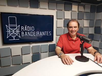 Reginaldo Leme estreia na Rádio Bandeirantes no dia 22 de maio