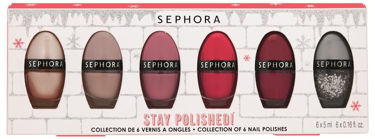 Sephora Stay polished! Set di 6 Smalti