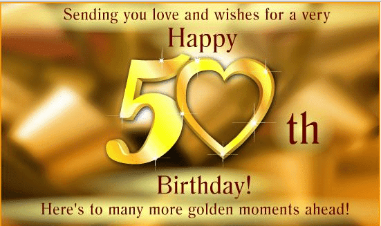 Special 50th Birthday Wishes