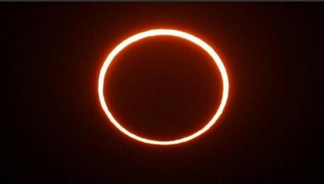الأرض على موعد مع كسوف حلقي للشمس الأسبوع المقبل؟