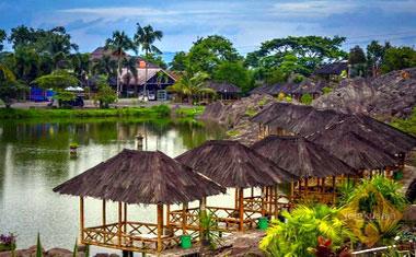 Kampung Batu Malakasari Bandung Tiket Masuk Wahana Terbaru