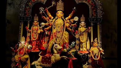 Ahirtola Sarbajanin Durga puja