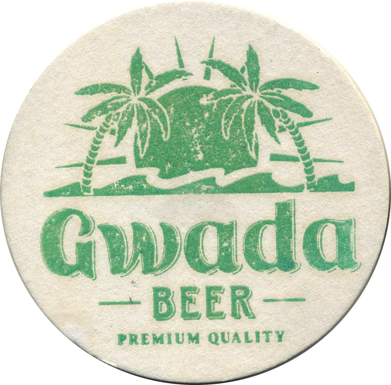 Sous Bock Gwada beer  Bière