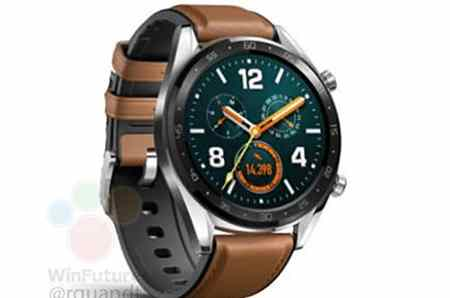 Huawei Watch GT leak points to big battery and small price