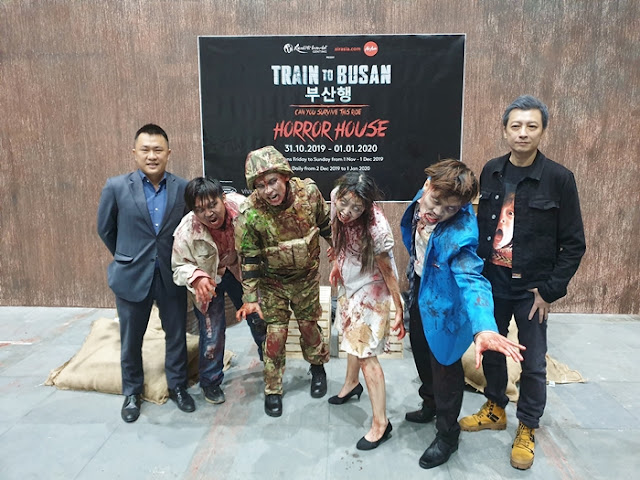 Train to Busan Behind The Scenes - Left to right - Roger Ong, Assistant Vice President of Entertainment & Events of Resorts World Genting & Jed Mok, Chief Executive Officer of Vividthree