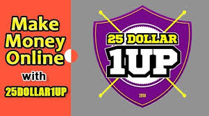 Create an Account on 25 Doller1up 2020