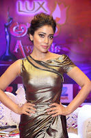 Shreya Saran in Skin Tight Golden Gown ~  Exclusive 005.JPG