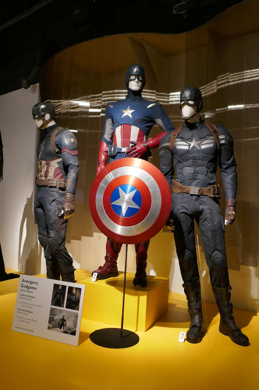 Chris Evans Captain America film costumes Avengers