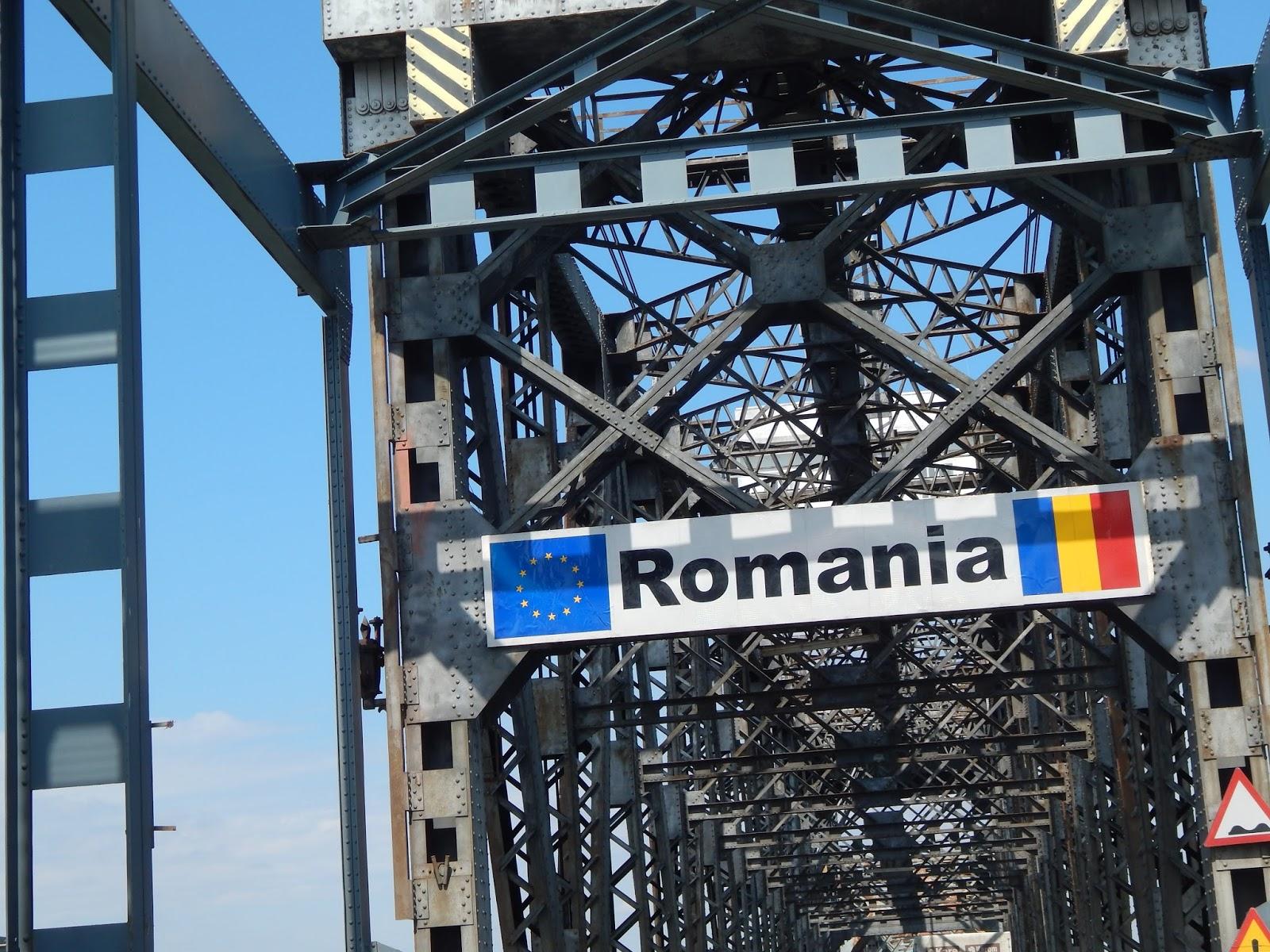 Most mezi Rumunskem a Bulharskem