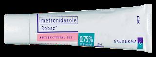 ยาแต้มสิว Metronidazole robaz gel 0.75%