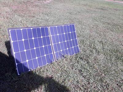 コンパクト太陽光発電械