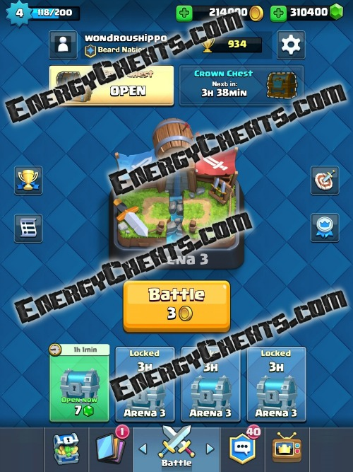 Game Tricks: Clash Royale Hack and Cheats [Free Gold and Gems] [Online ...