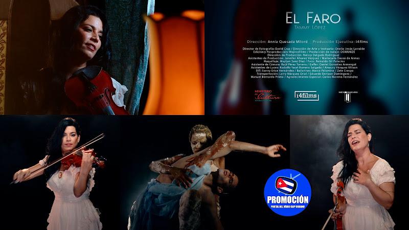 Tanmy López - ¨El Faro¨ - Videoclip - Directora: Annia Quesada Milord. Portal Del Vídeo Clip Cubano. Música cubana. Canción. Cuba.