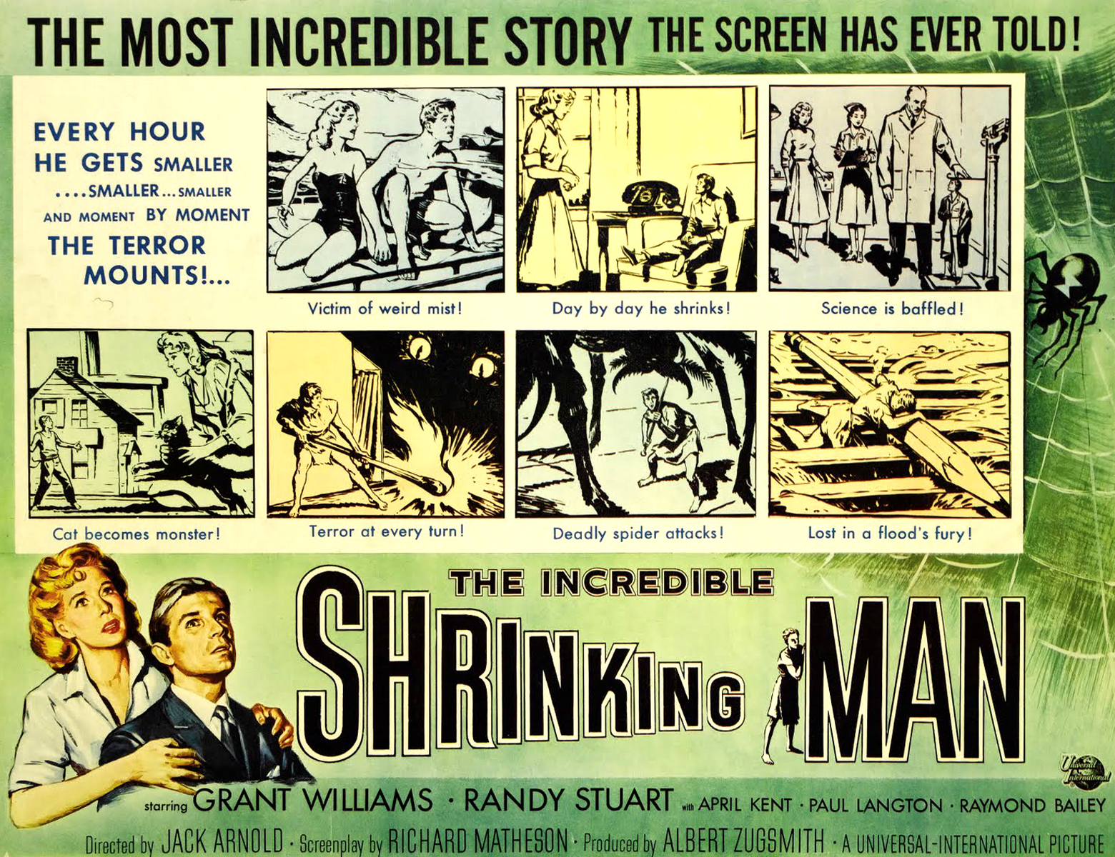 MOVIE POSTERS: THE INCREDIBLE SHRINKING MAN (1957)