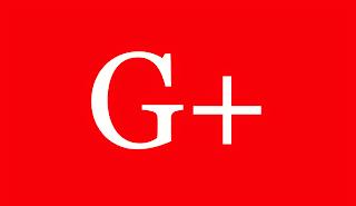 A imagem de fundo vermelho e caracteres nas cores  brancas está escrito G+.Penso que aos poucos os usuários começarão a se darem conta dessa realidade cruel, e quão caminham para o fim. E com toda a certeza iniciará a debandada do g+ e será grande.