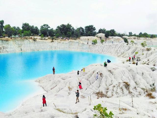 Destinasi Wisata Danau Kaolin Bangka Belitung
