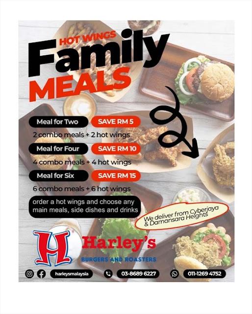 Harley's Burgers Malaysia MCO 2.0 deal
