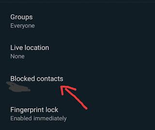 WhatsApp Par kisi ko Unblock kaise kare