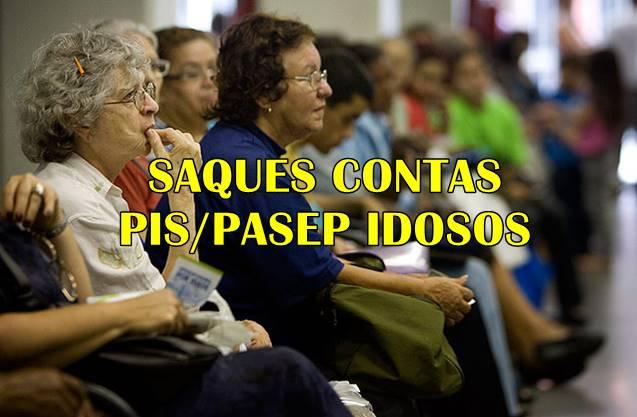 Saque de contas do PIS-PASEP para idosos