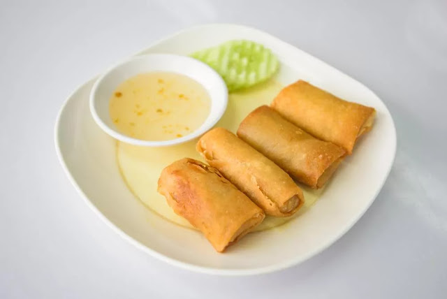 Noodles Spring Rolls Recipe in Hindi