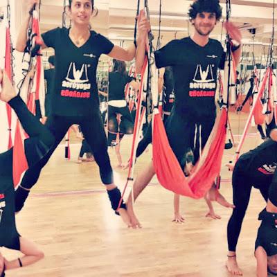 aerial yoga brasil